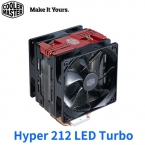 酷媽 CoolerMaster Hyper 212 LED Turbo 紅蓋版 支援AM4/4銅導管